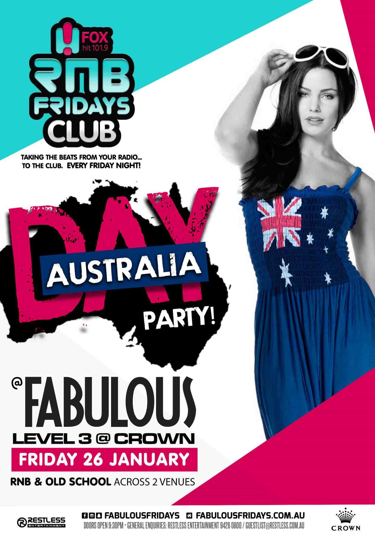 Fabulous – Australia Day Party