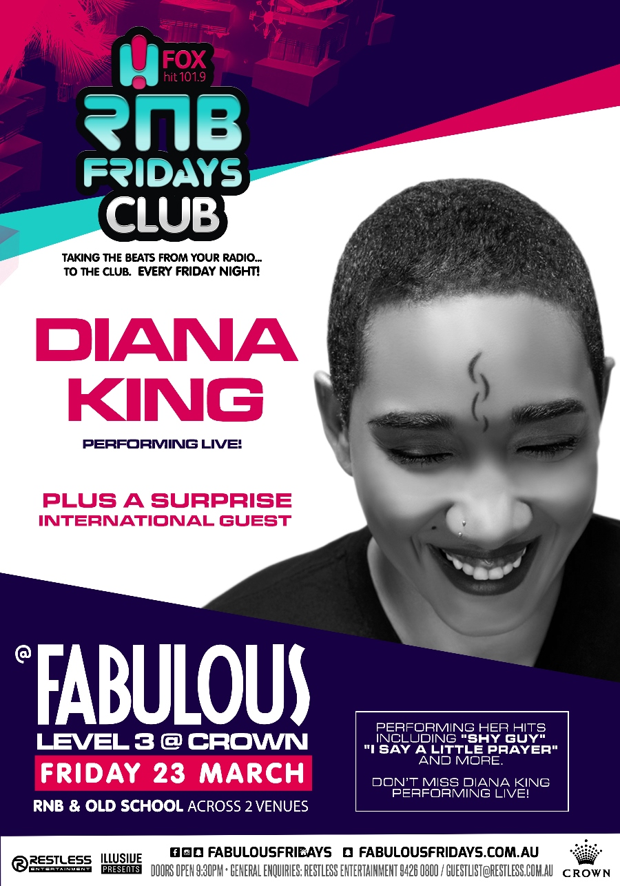 Fabulous – Diana King Live