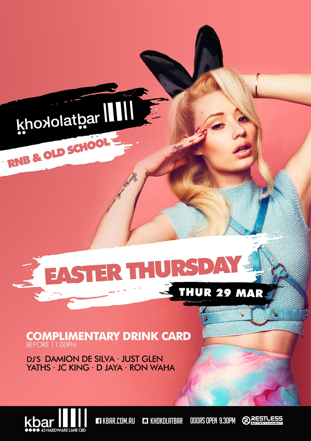 Khokolat Bar – Easter Thursday