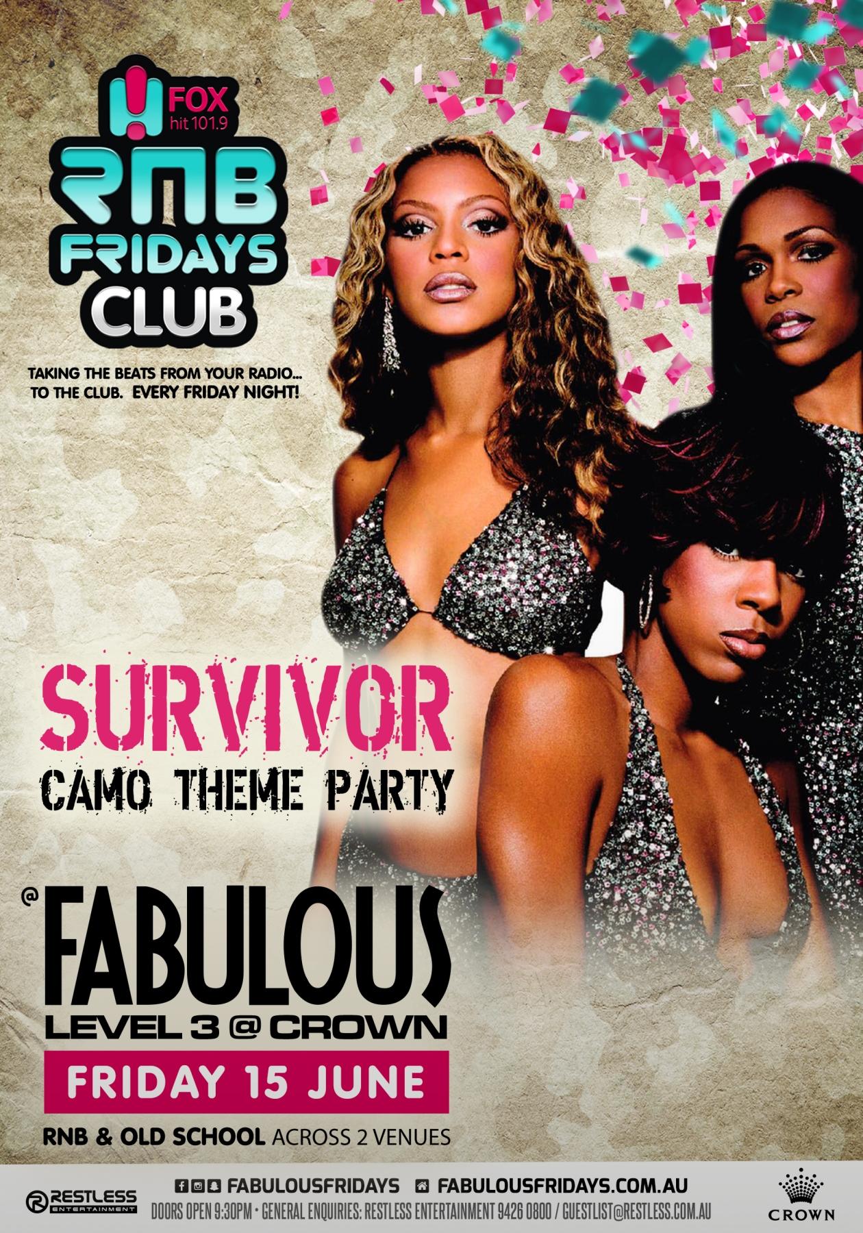 Fabulous – Survivor Party