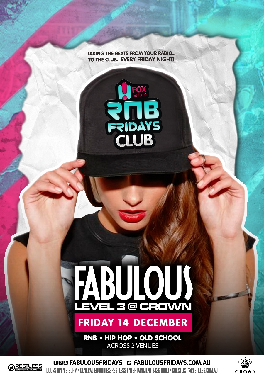 Fabulous – RnB Fridays