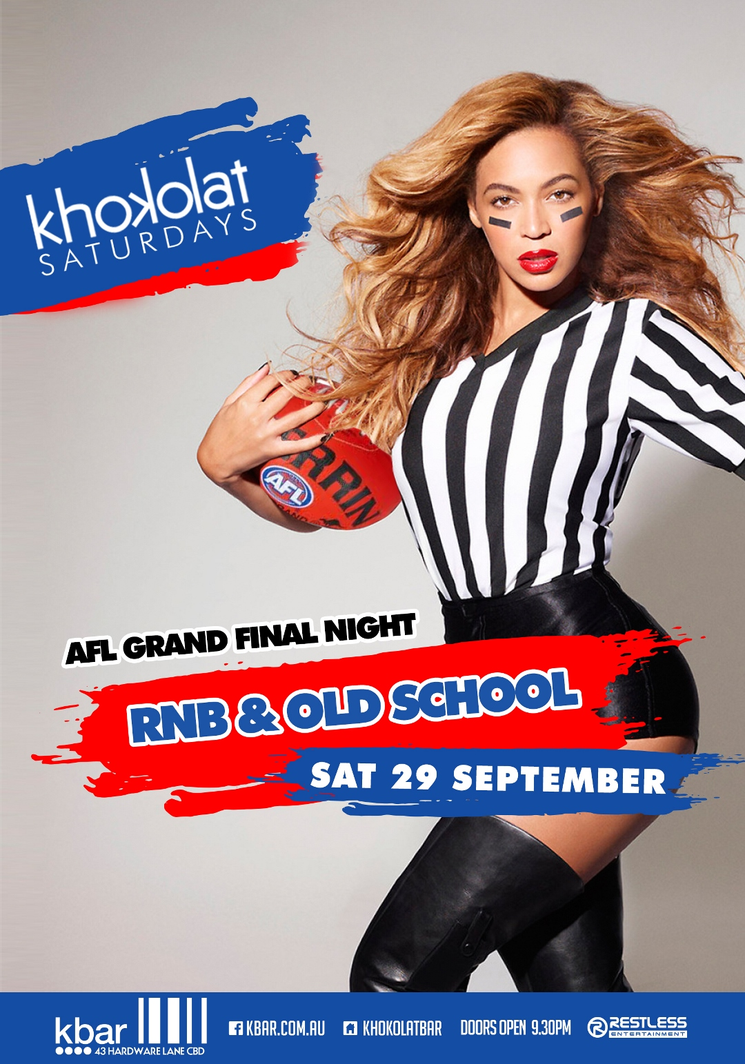Khokolat Saturdays – AFL Grand Final Night