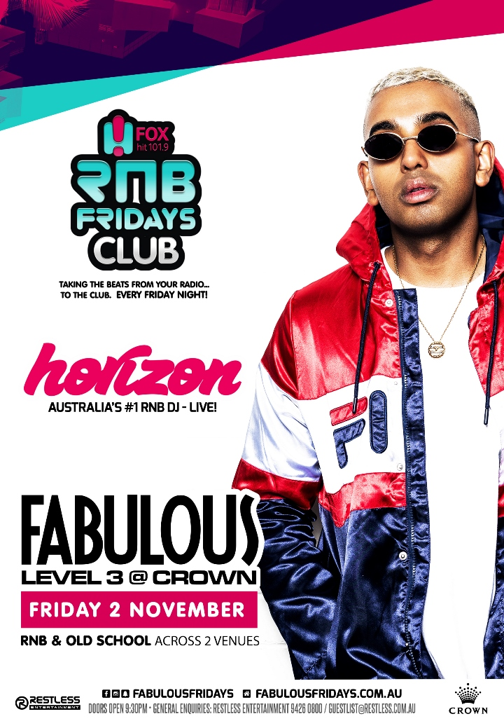 Fabulous – DJ Horizon Performing Live